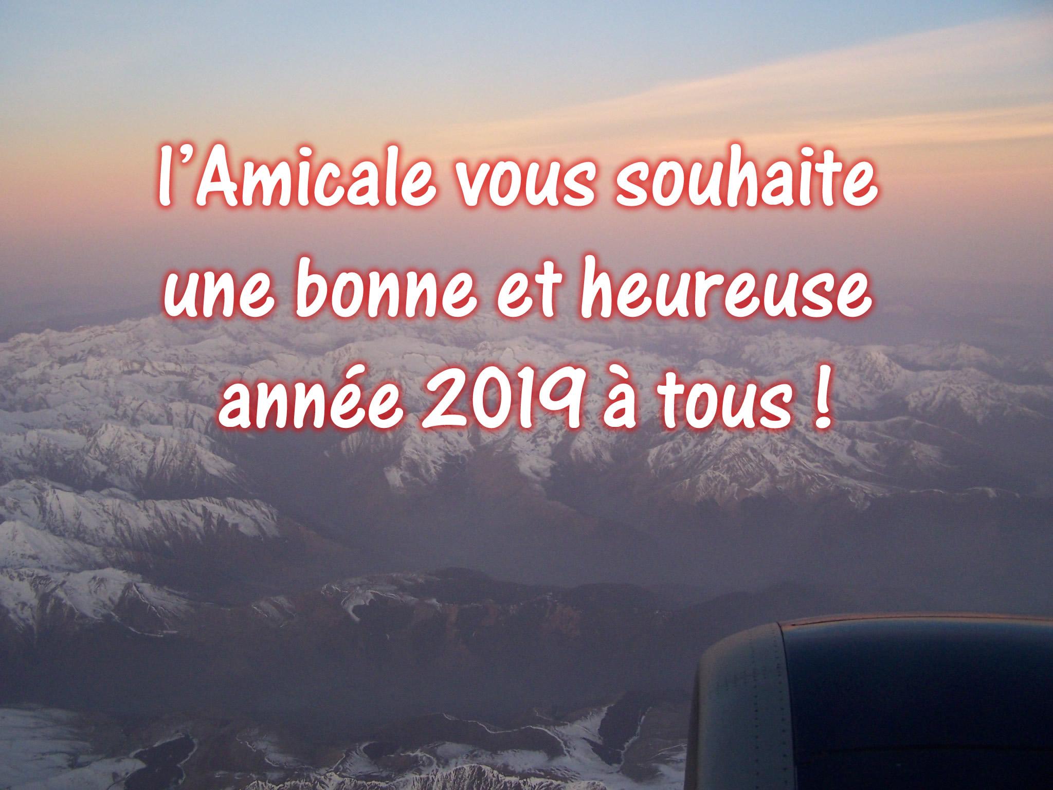 Bonne année 2019 !!!